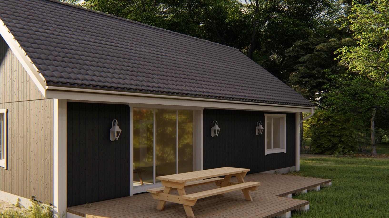 Norweskie domy drewniane – pięknie i przytulnie